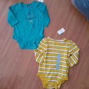 Baby Gap 2PC lot set 3-6mos